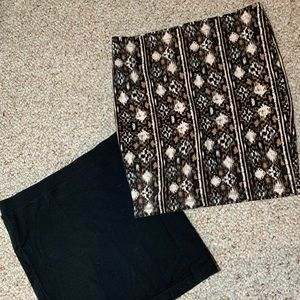 2 for 1!!! Two Bodycon Mini Skirts from Forever 21